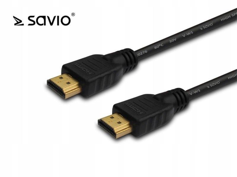 SAVIO CL-75 Kabel HDMI v1.4, High Speed, Ethernet,