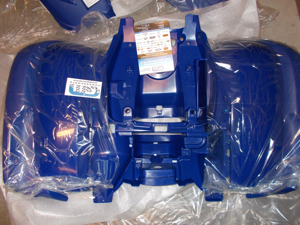 Komplet plastików blue Yamaha Grizzly 700 07-15