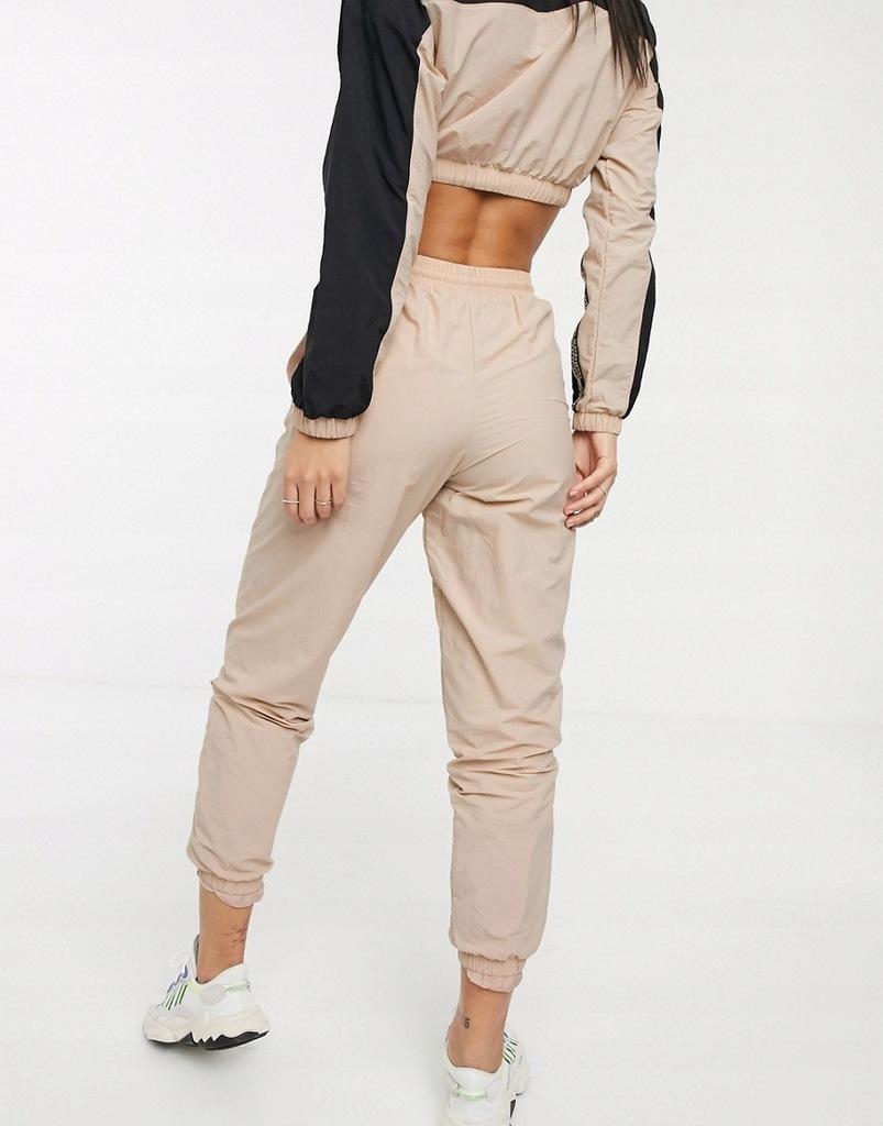 ADIDAS ORIGINALS spodnie dresowe pudrowy róż 34