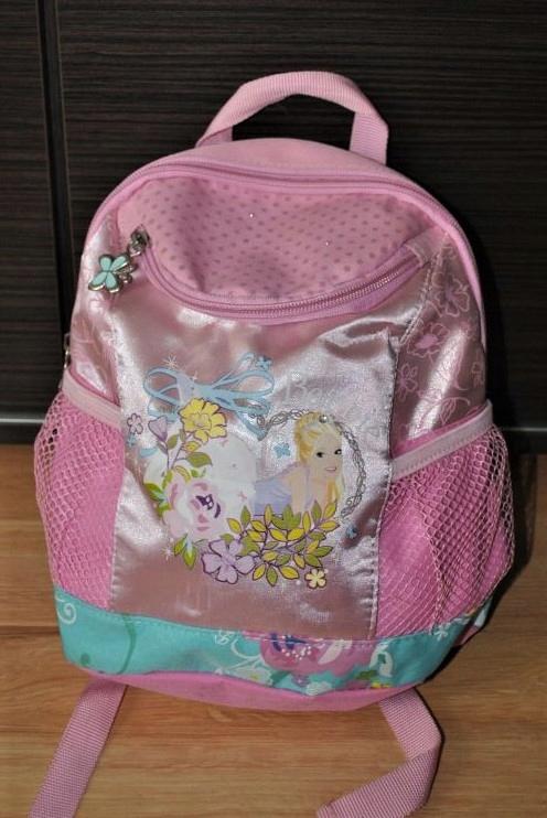 Barbie różowy plecak na wycieczki dla dziewczynki