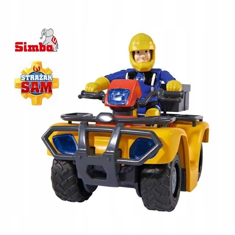 SIMBA Strażak SAM Quad Akcesoria Figurka