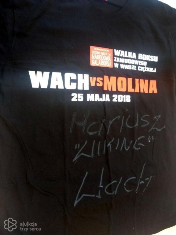 """Koszulka Mariusza """"Wikinga"""" Wacha z autografem"""