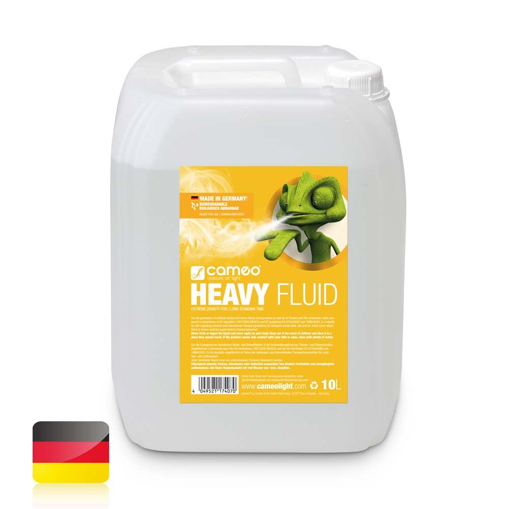 Płyn do wytwarzania mgły Cameo HEAVY FLUID 10L
