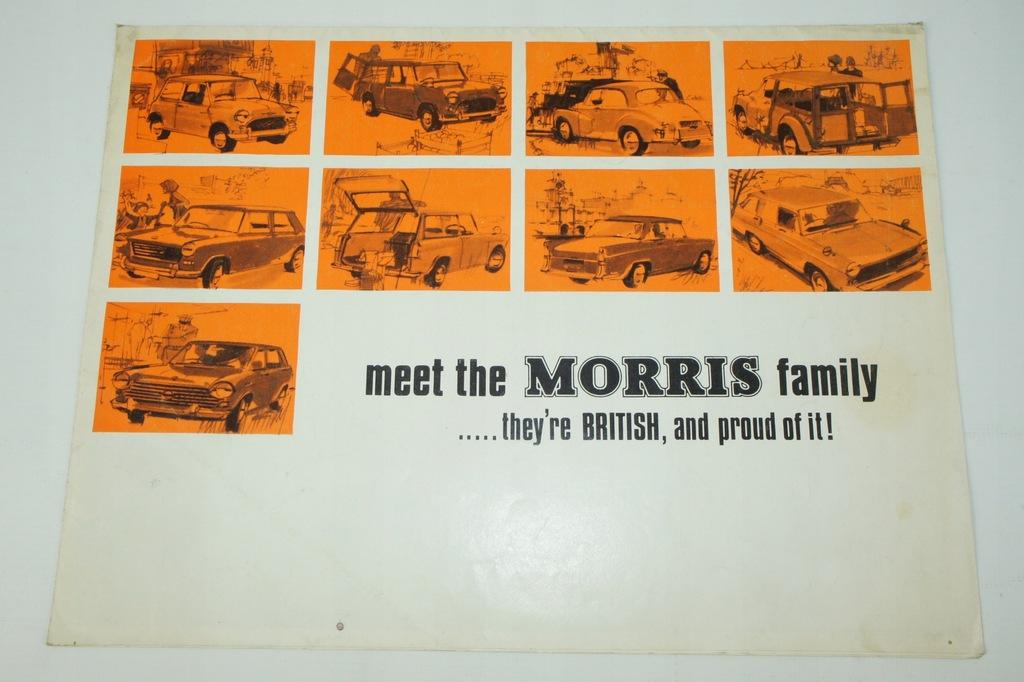 Prospekt samochodowy – Morris lata 70te