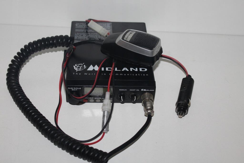 CB Midland Alan 78 Plus Multi B
