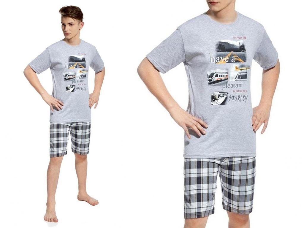 CORNETTE YOUNG piżama młodzieżowa krótka 551/20 *L