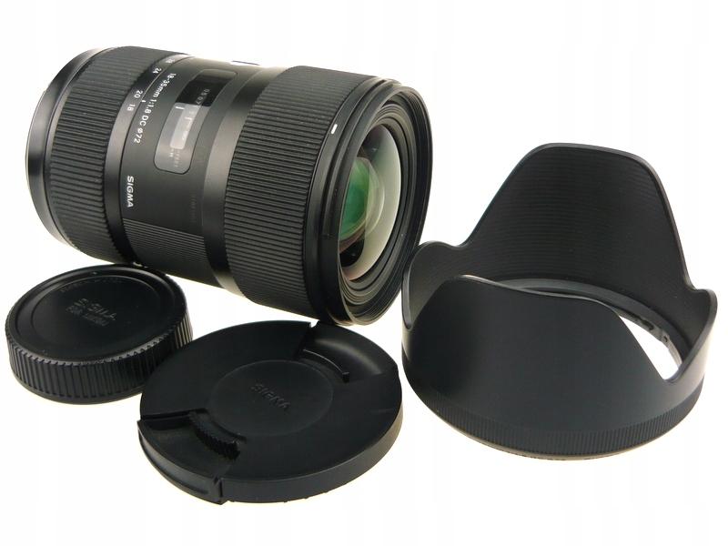 SIGMA ART 18-35/1.8 DC|Canon|idealnie ostre zdj|