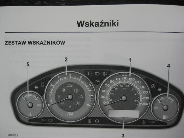 NUOVO Originale Jaguar X-Type instrukcja obsługi płyty Audio CD POLACCO POLSKI
