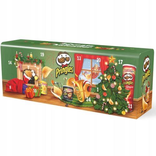 Pringles Kalendarz Adwentowy Z Chipsami 90061 8541203289 Oficjalne Archiwum Allegro