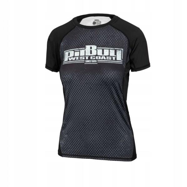 PIT BULL Rashguard damski Cage 19 koszulka r.L