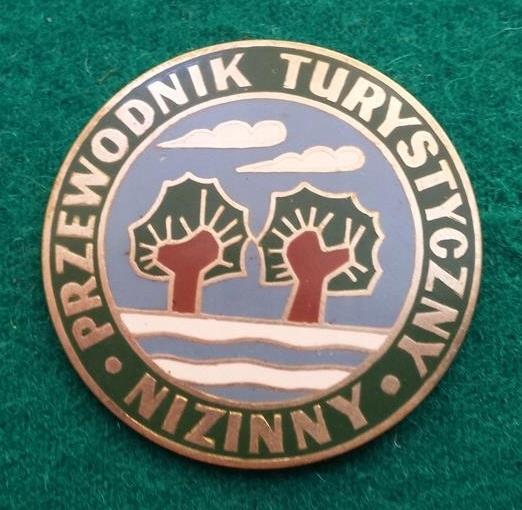 Odznaka-PTTK Przewodnik Turystyczny Nizinny