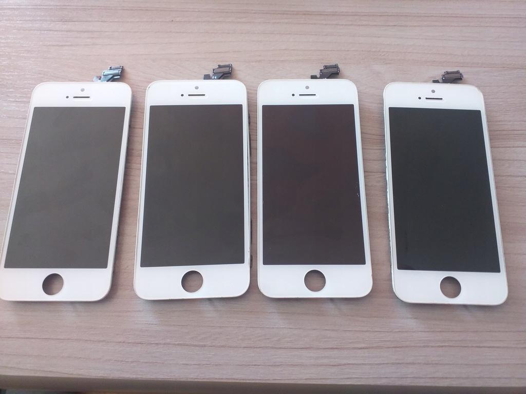 Wyświetlacze iPhone 5 sprawne ale