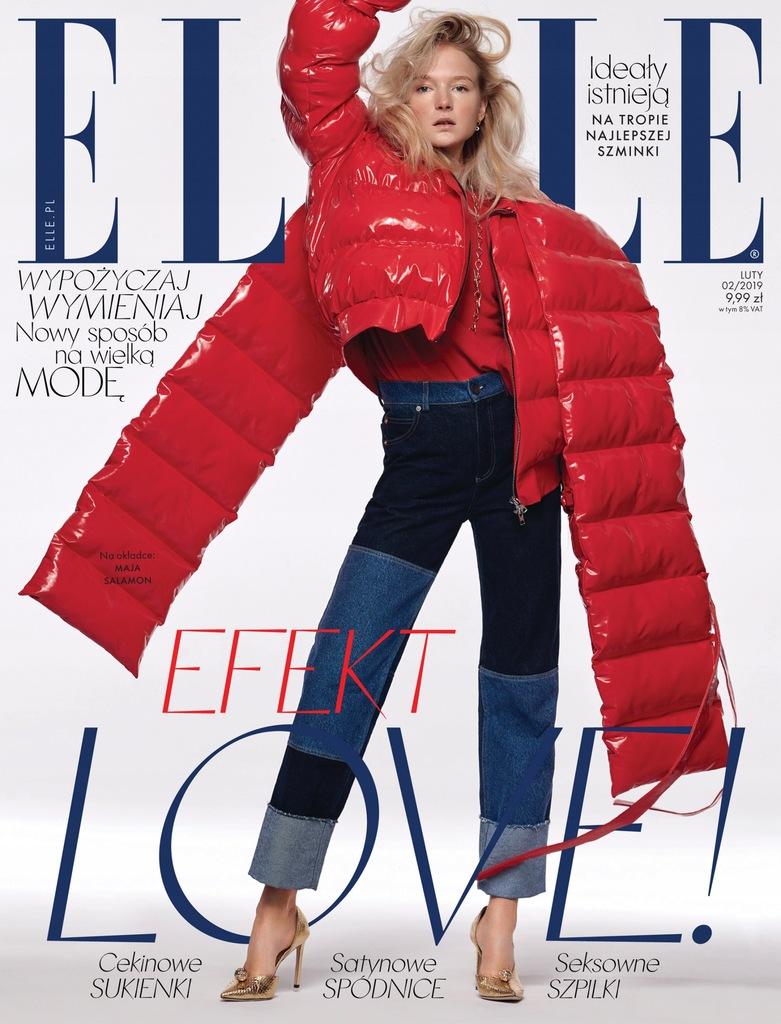 Kurtka z okładkowej sesji Elle