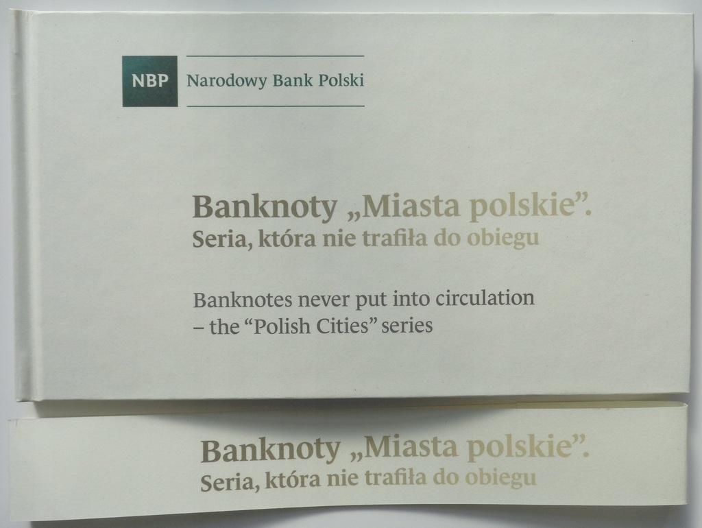 PUSTY ALBUM NBP - Banknoty : MIASTA POLSKIE