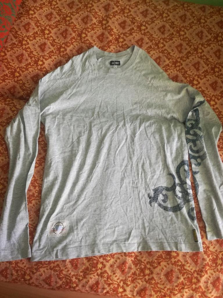 Armani Jeans koszulka long m jak nowa