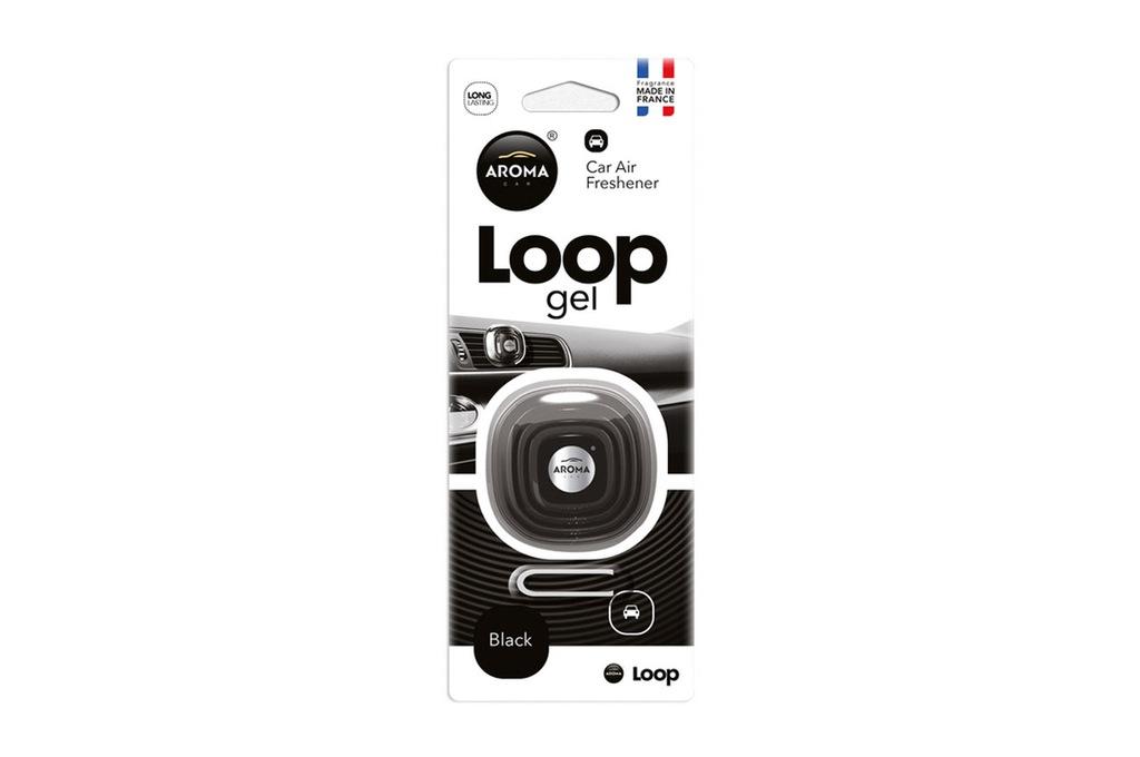 Odświeżacz powietrza AROMA CAR LOOP - Black
