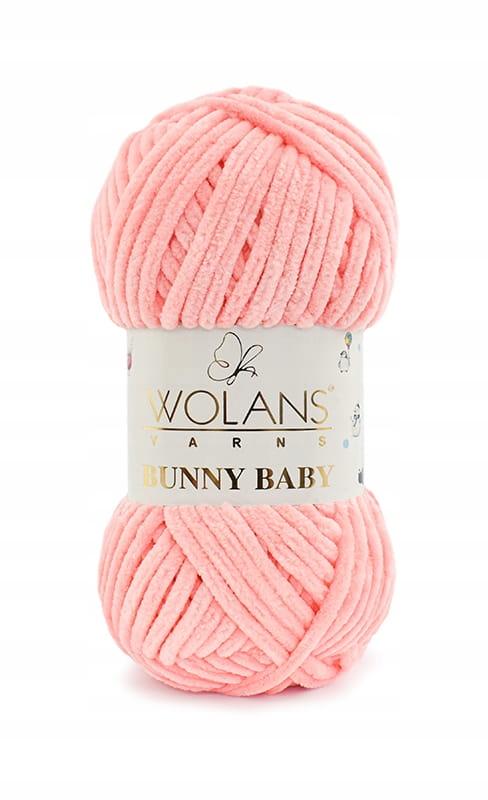 Włóczka Wolans Bunny Baby 100-21 / morela