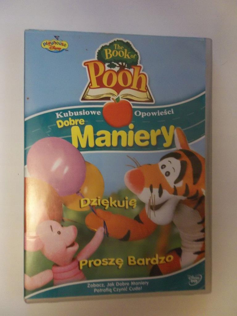 Kubusiowe opowieści Dobre maniery DVD