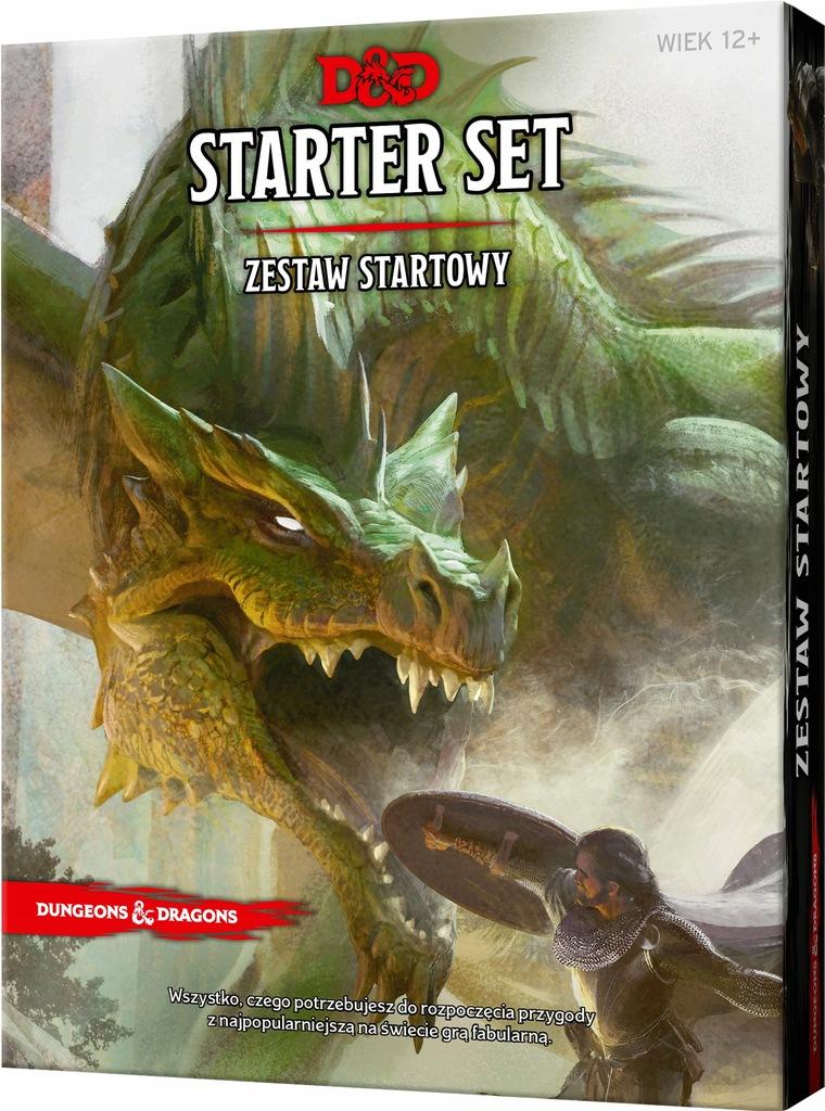 Dungeons and Dragons Zestaw Startowy Edycja PL