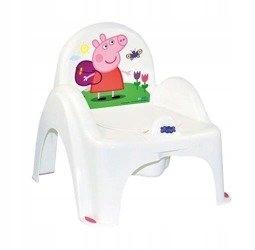 nocnik krzesełko z pozytywką Peppa Pig biały-r