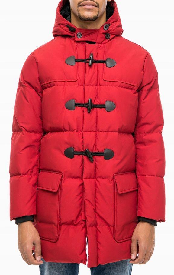 Kurtka Armani męska 6Y6L63 zima czerwona M płaszcz