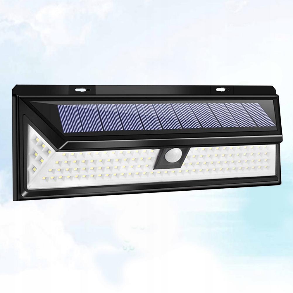 118 LED Solar Lights Outdoor Body Motion Sensor Wa