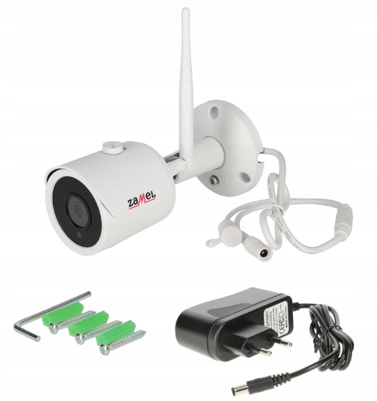 Zamel Kamera Do Monitoringu Wifi Full Hd Zmb 01 9246040851 Oficjalne Archiwum Allegro