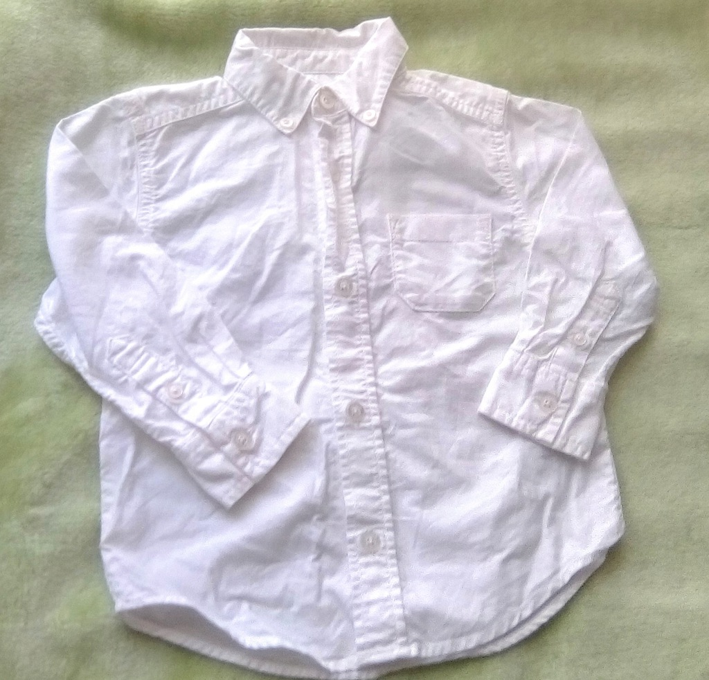 Carters biała koszula r. 2-3 lata