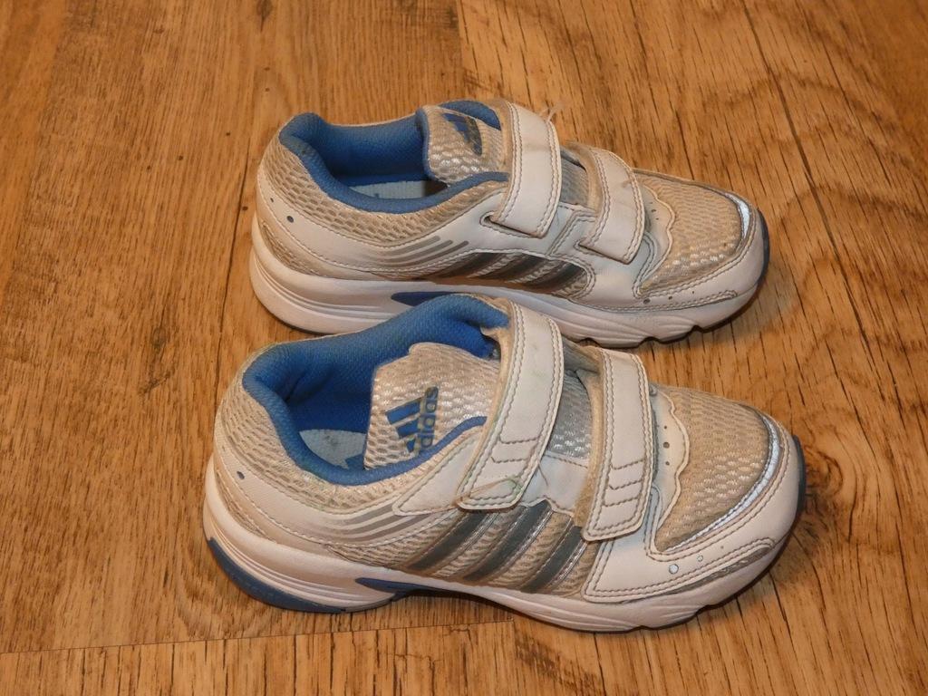 Buty Adidas biale dziecięce rozmiar 29