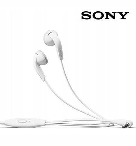 Zestaw słuchawkowy Sony MH410C bulk białe