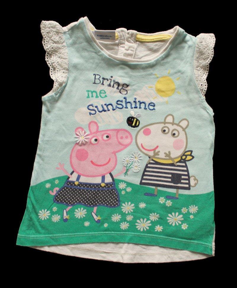 PEPPA PIG Tunika sukienka świnka peppa 80