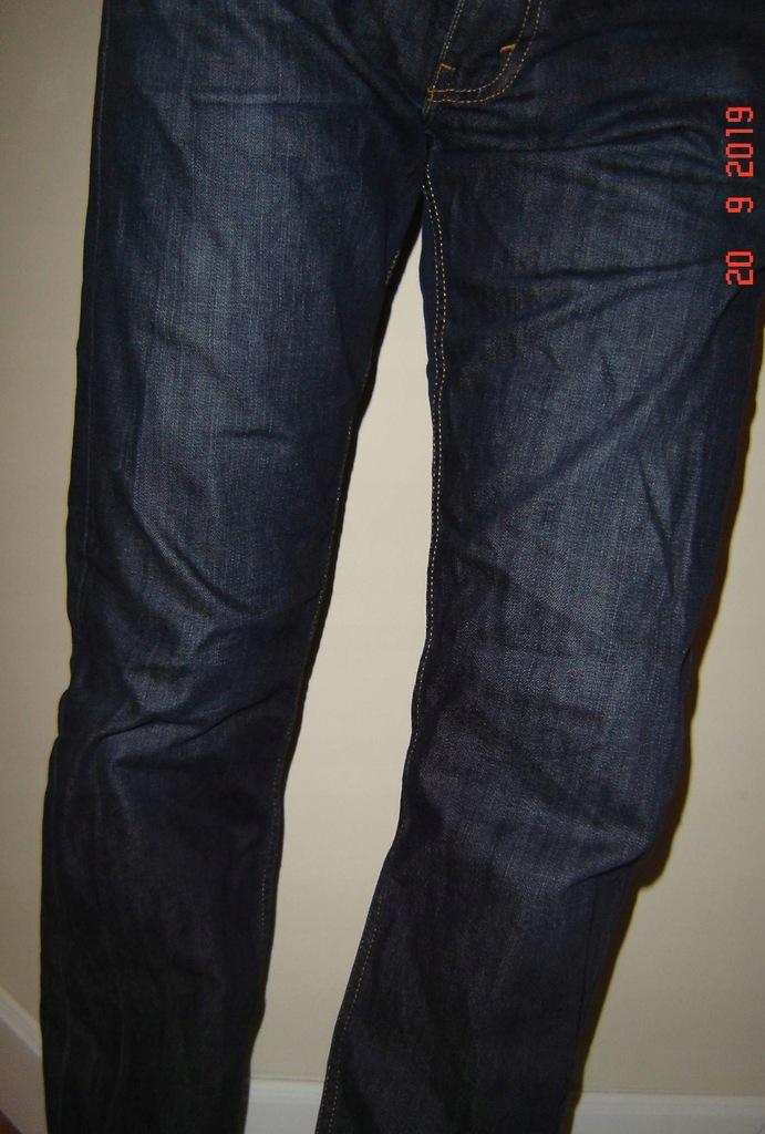 Spodnie męskie Levis_504_W34L34_ 100