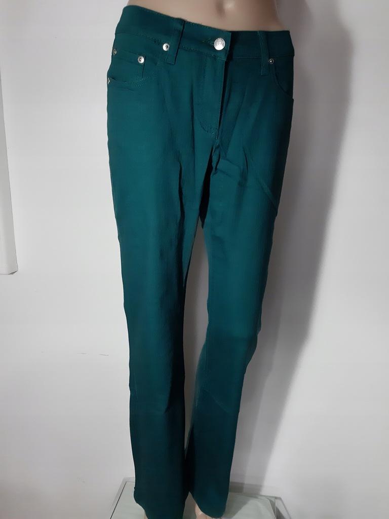L061046 Spodnie zielone ciemne r.34 XS od 3zl