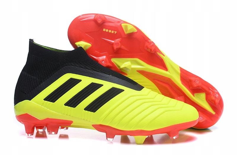 Adidas Buty Korki Predator 18+ FG Telstar Czerwony Złoto Czarny
