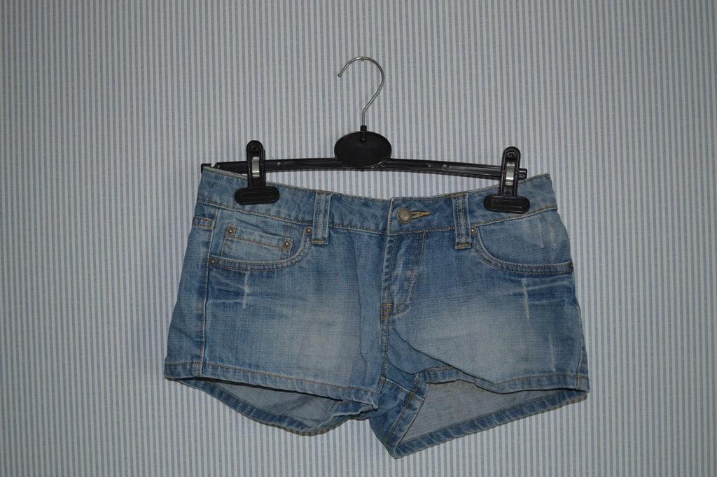 Krótkie spodenki jeansowe damskie, rozm. 34 ORSAY