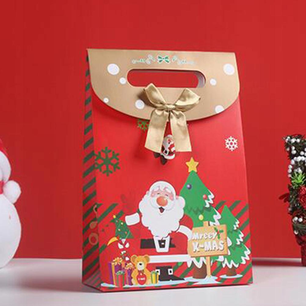 3szt. Torba na prezent świąteczny Papierowa torebk