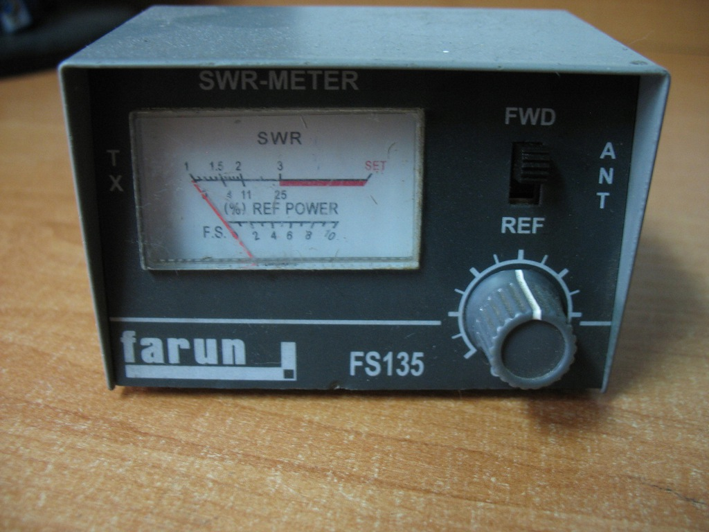 SWR-METER FARUN FS135