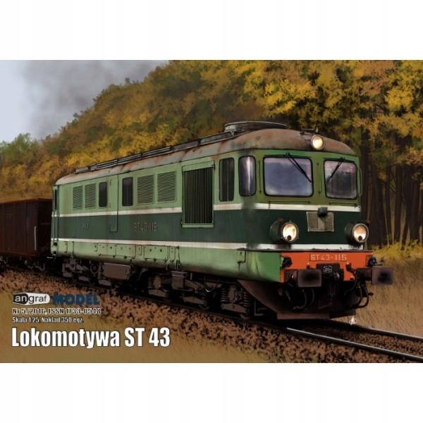 Lokomotywa ST43, Angraf Model, 1/25