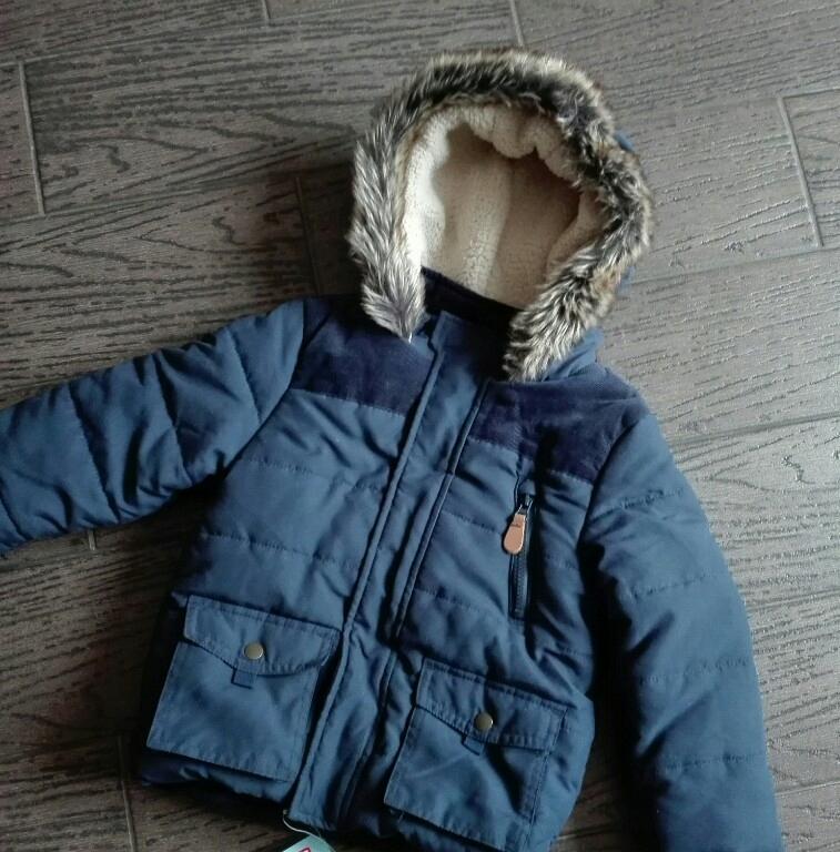 Nowa kurtka zimowa f&f 110 cm 8288893387 oficjalne