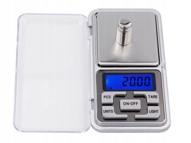 WAGA JUBILERSKA ELEKTRONICZNA 200 g - 0,01g