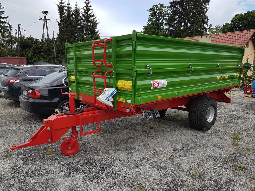 Przyczepa rolnicza jednoosiowa PRONAR T671 - 5 t