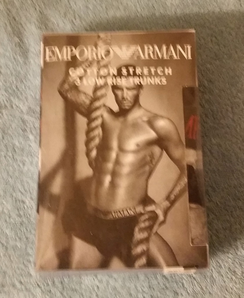 Emporio Armani - Bokserki 3 - Pack - rozmiar. L