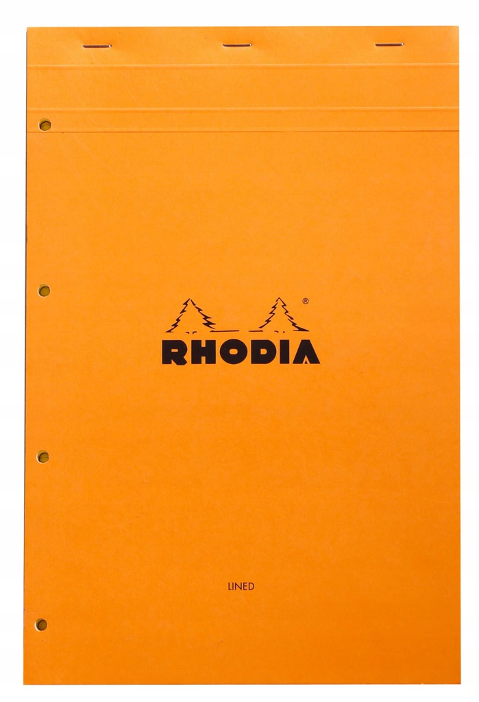 Legal Pad Rhodia N°119 A4+ 21x31,8 cm, pomarańczow