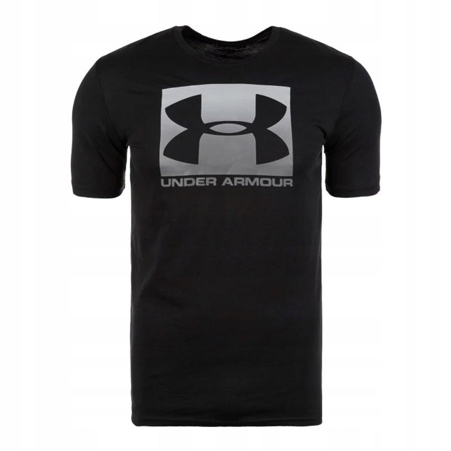 Koszulka UA Boxed Sportstyle SS czarny XXL!