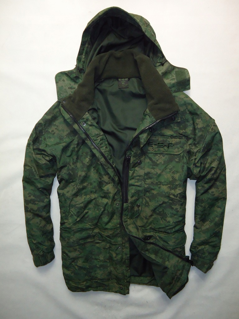 Kurtka Wojskowa E-S-P Militarna moro roz. XL/XXL