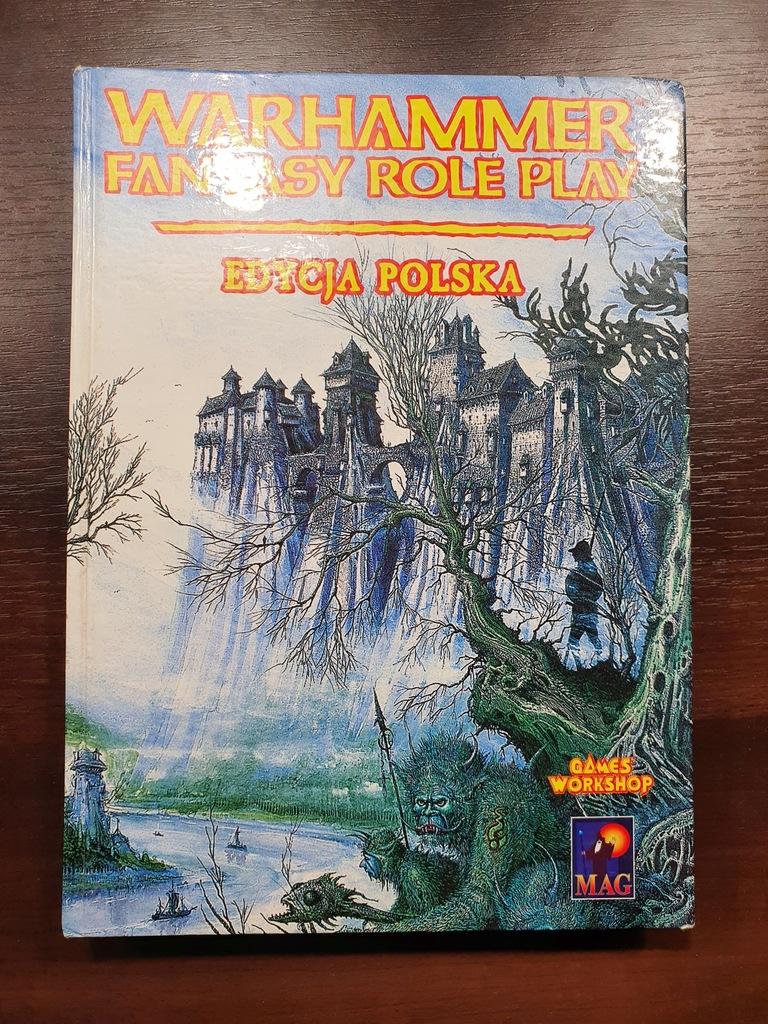 Warhammer Fantasy Role Play - RPG - 1 edycja PL