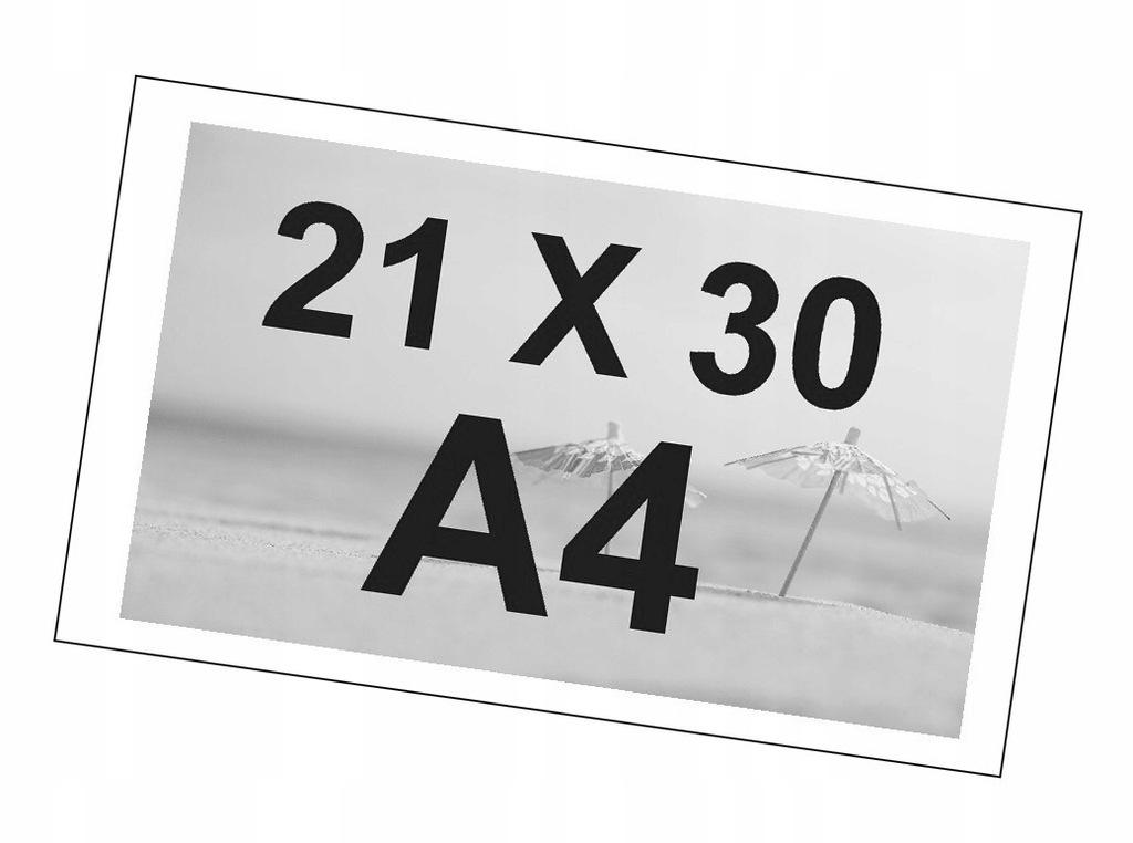 ODBITKI ZDJĘĆ CZARNO-BIAŁE A4 21X30 BŁYSK PREMIUM