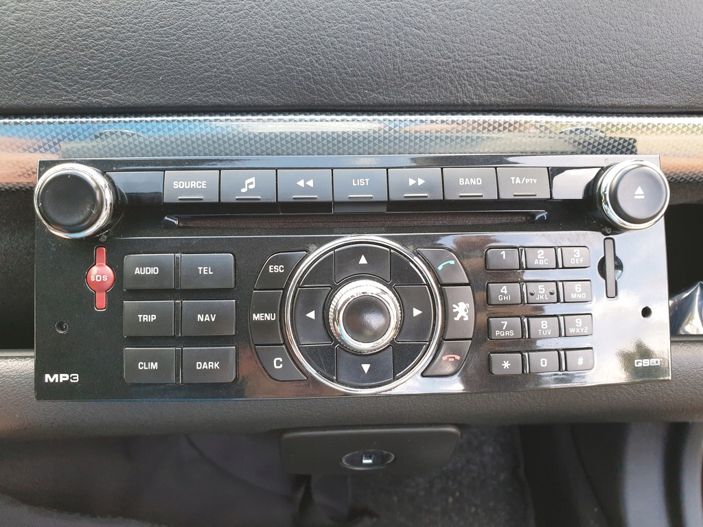 NAWIGACJA RADIO PEUGEOT CITROEN RT5 BLUETOOTH HDD