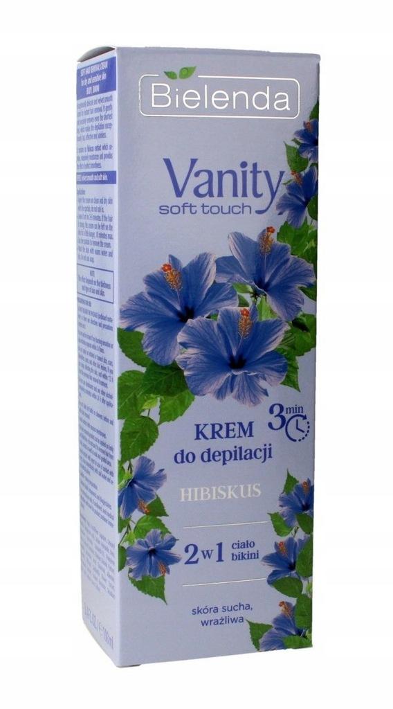 Bielenda Vanity Soft Touch Krem do depilacji 2w1 H