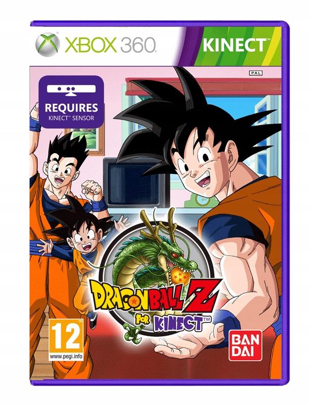 Dragon Ball Z For Kinect Xbox 360 W Folii 7605516215 Oficjalne Archiwum Allegro